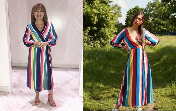 Robe de Lorraine Kelly