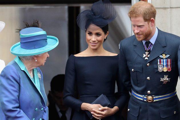 la reine a profondément bouleversé le prince harry meghan markle famille royale indépendante