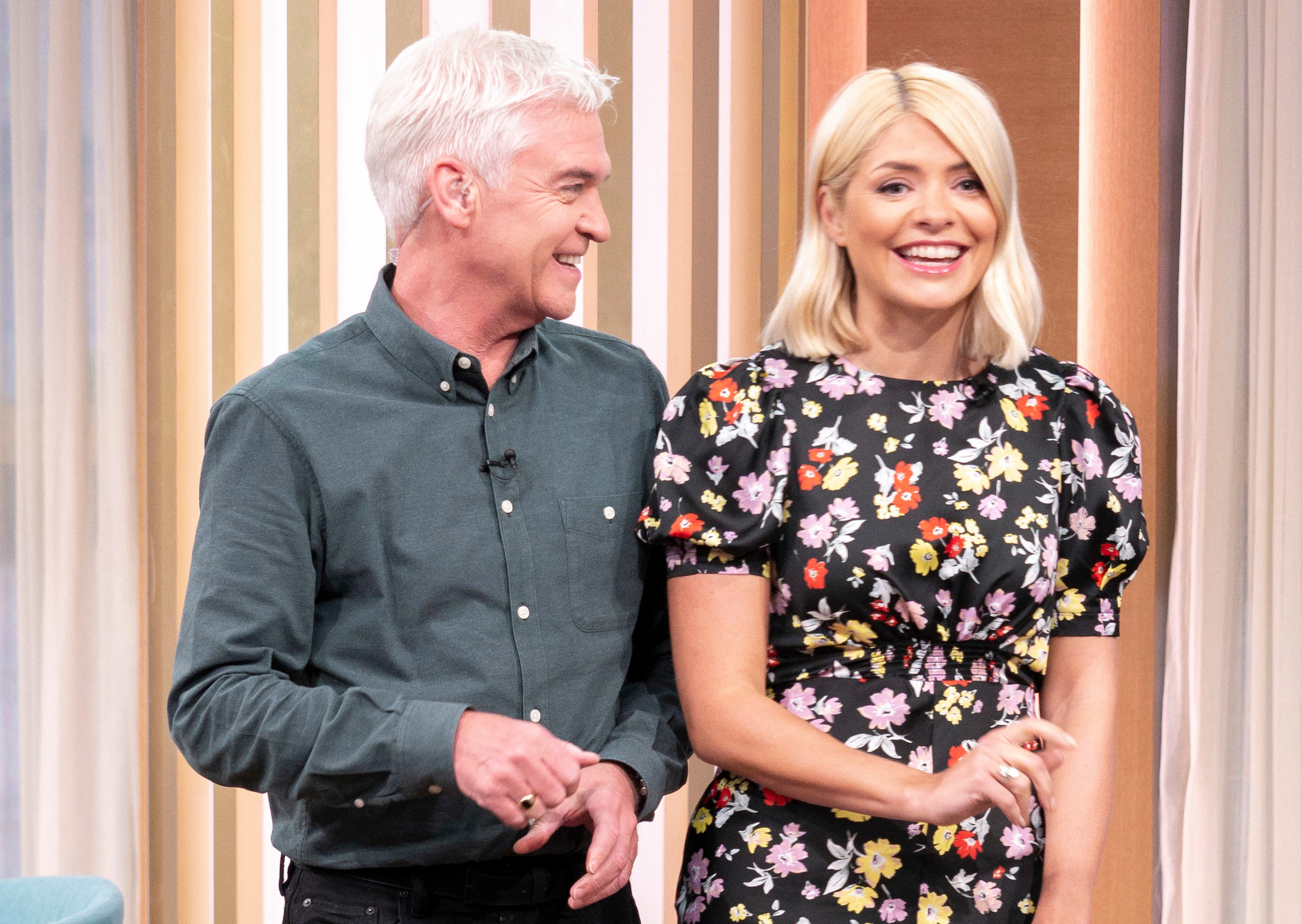 Holly Willoughby et Phillip Schofield