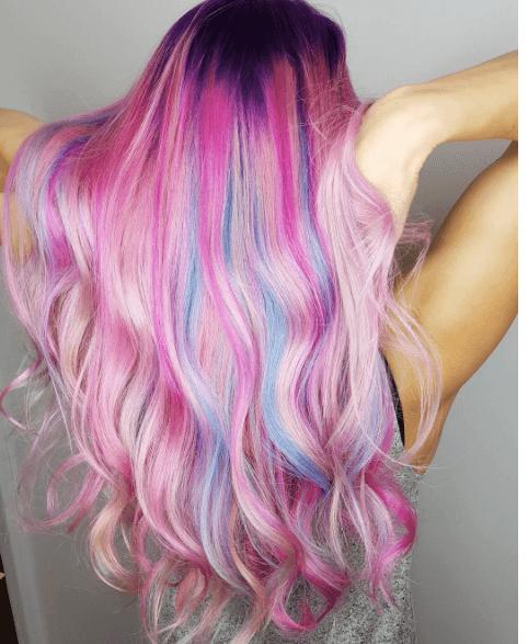 cheveux de sirène