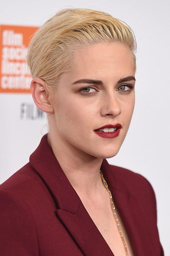 Kristen Stewart, blonde décolorée, coupe de lutin