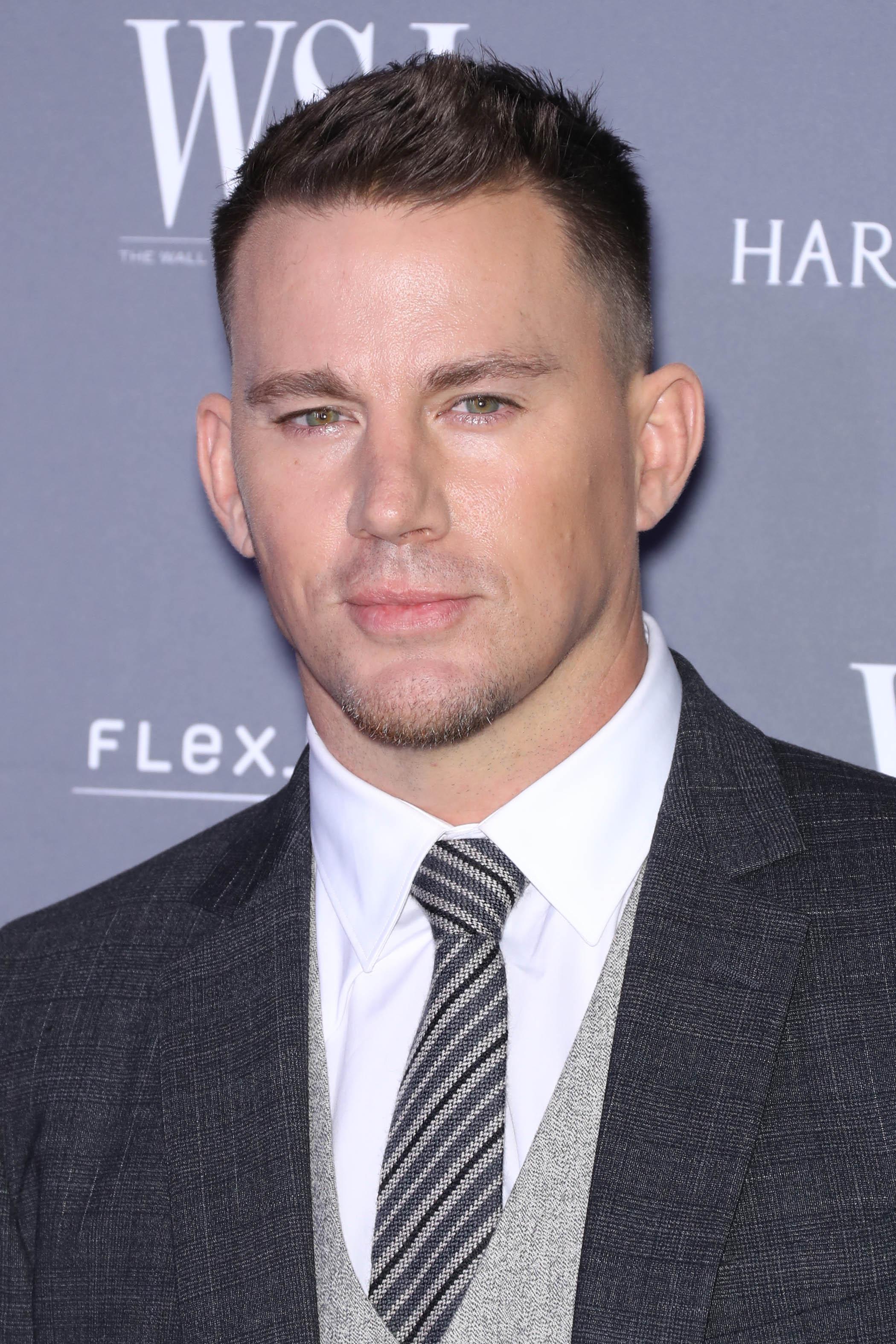 Channing Tatum avec une coupe de lierre