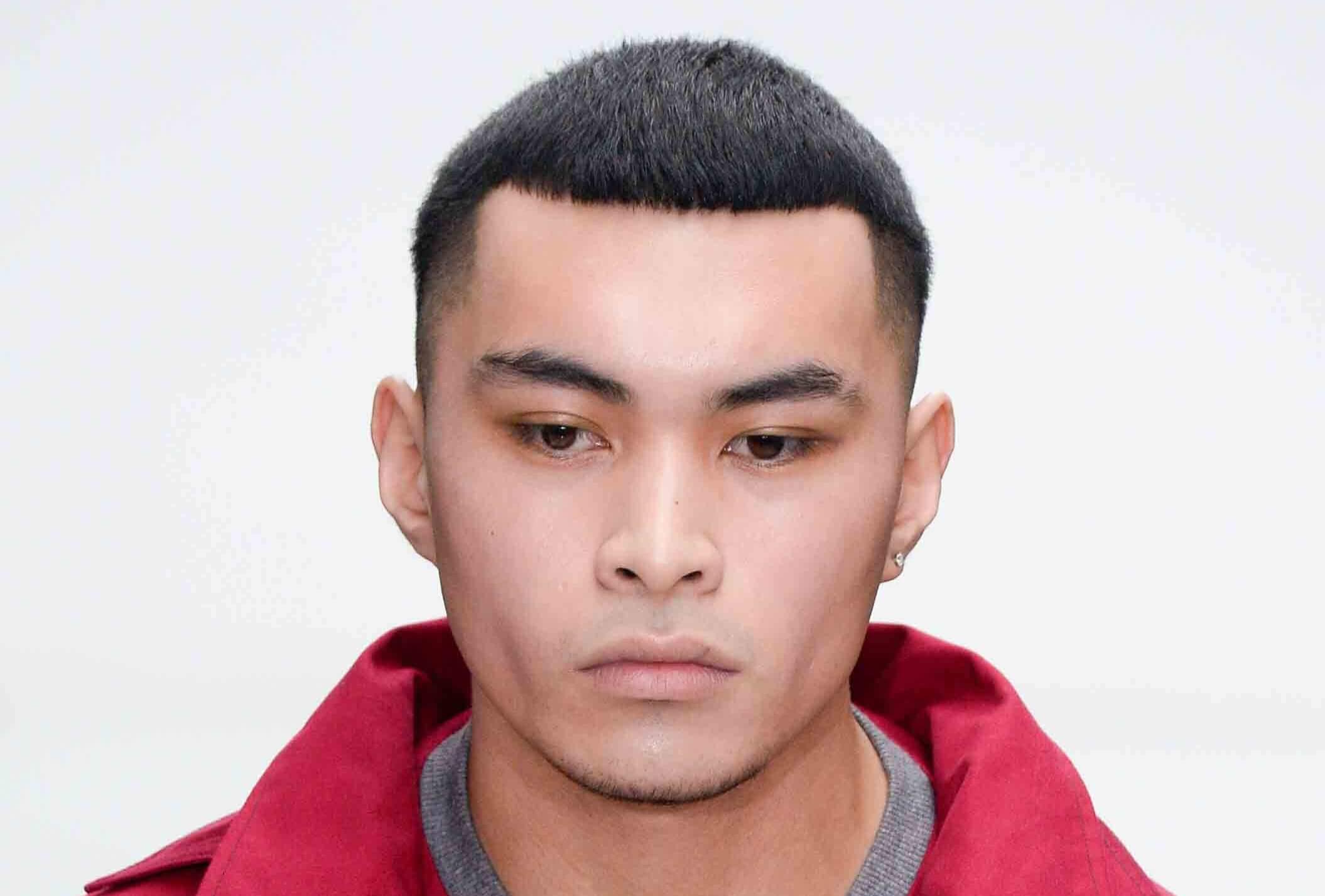 coupe de cheveux en dégradé pour les hommes