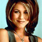Jennifer Aniston 90s Rachel Friends haircut