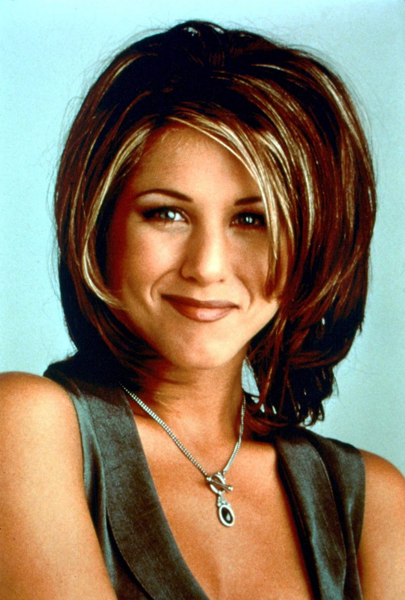 Jennifer Aniston 90s Rachel Friends haircut