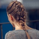 hairstyles-for-thick-hair-french-braid-brunette
