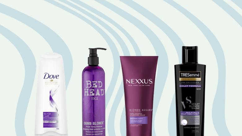 Les meilleurs shampooings violets de Dove, Bed Head, Nexxus et TRESemme