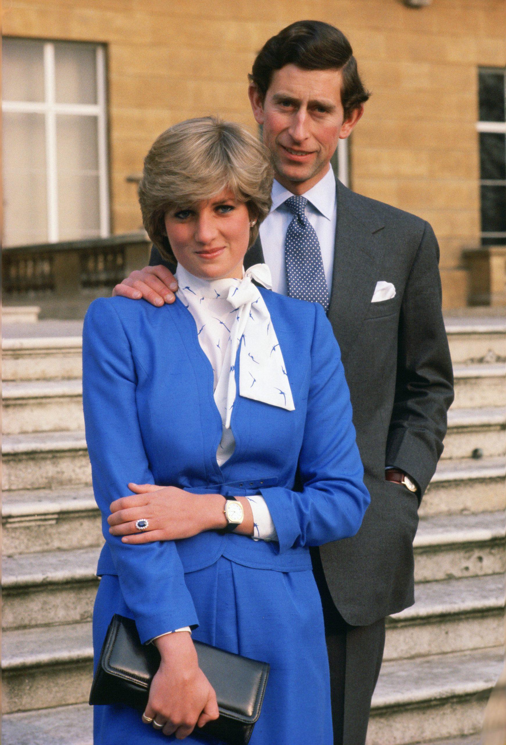 Fiançailles de la Princesse Diana et du Prince Charles
