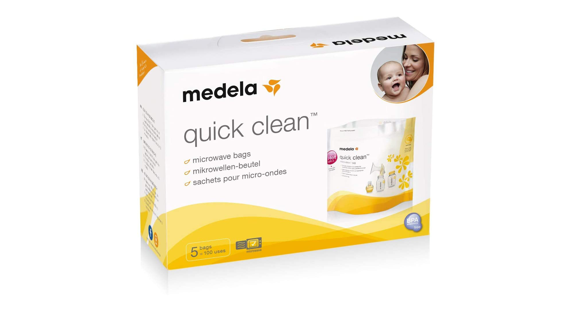 Sacs Medela Quick Clean Micro-Steam