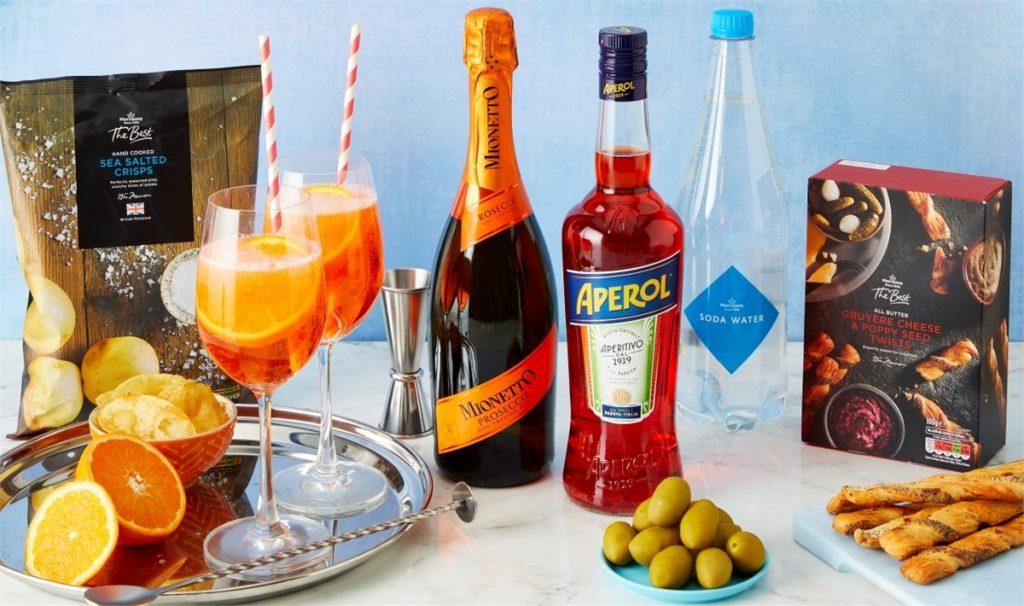 Boîte de cocktails Aperol Morrisons