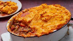 tarte du berger à la patate douce