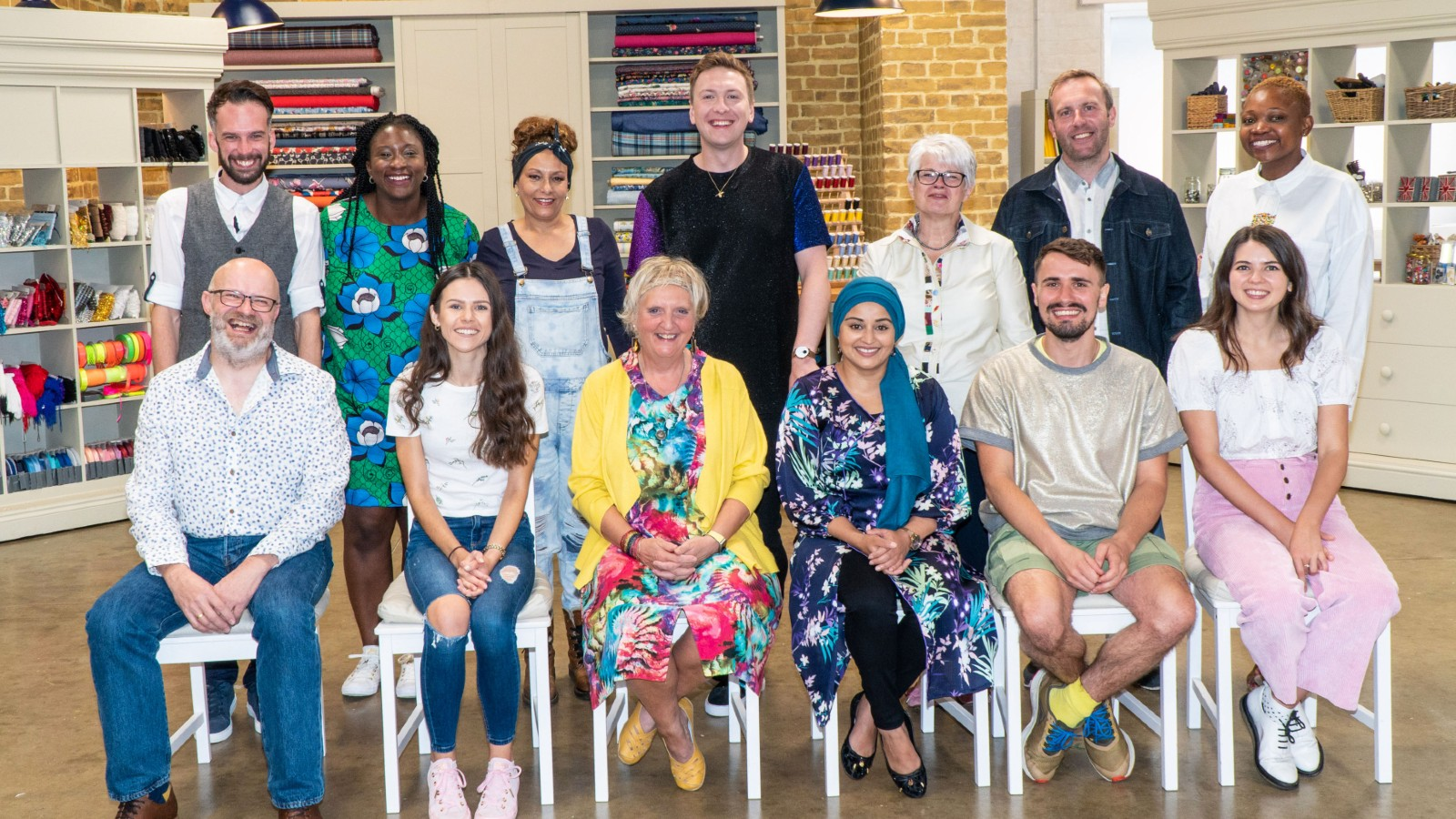 The Great British Sewing Bee contestants 2021