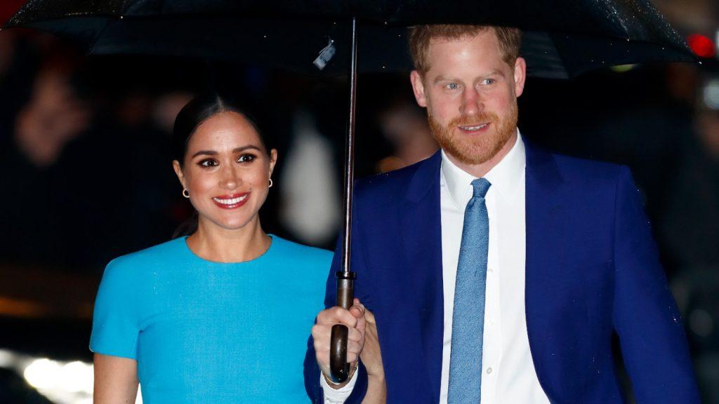 Meghan, duchesse de Sussex, et le prince Harry, duc de Sussex, assistent à la remise des prix de l'Endeavour Fund à Mansion House.