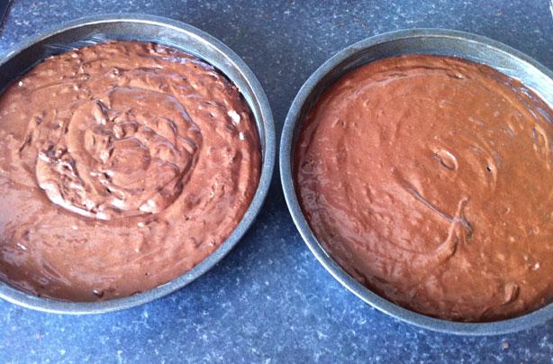 Mélange pour gâteau au chocolat et au cola