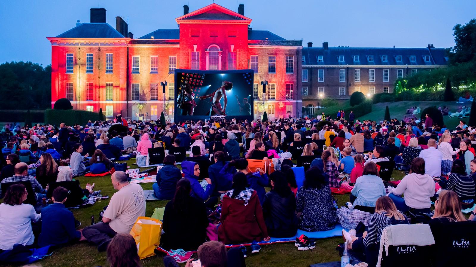 Luna Cinema Kensington Palace maison du Prince William et Kate