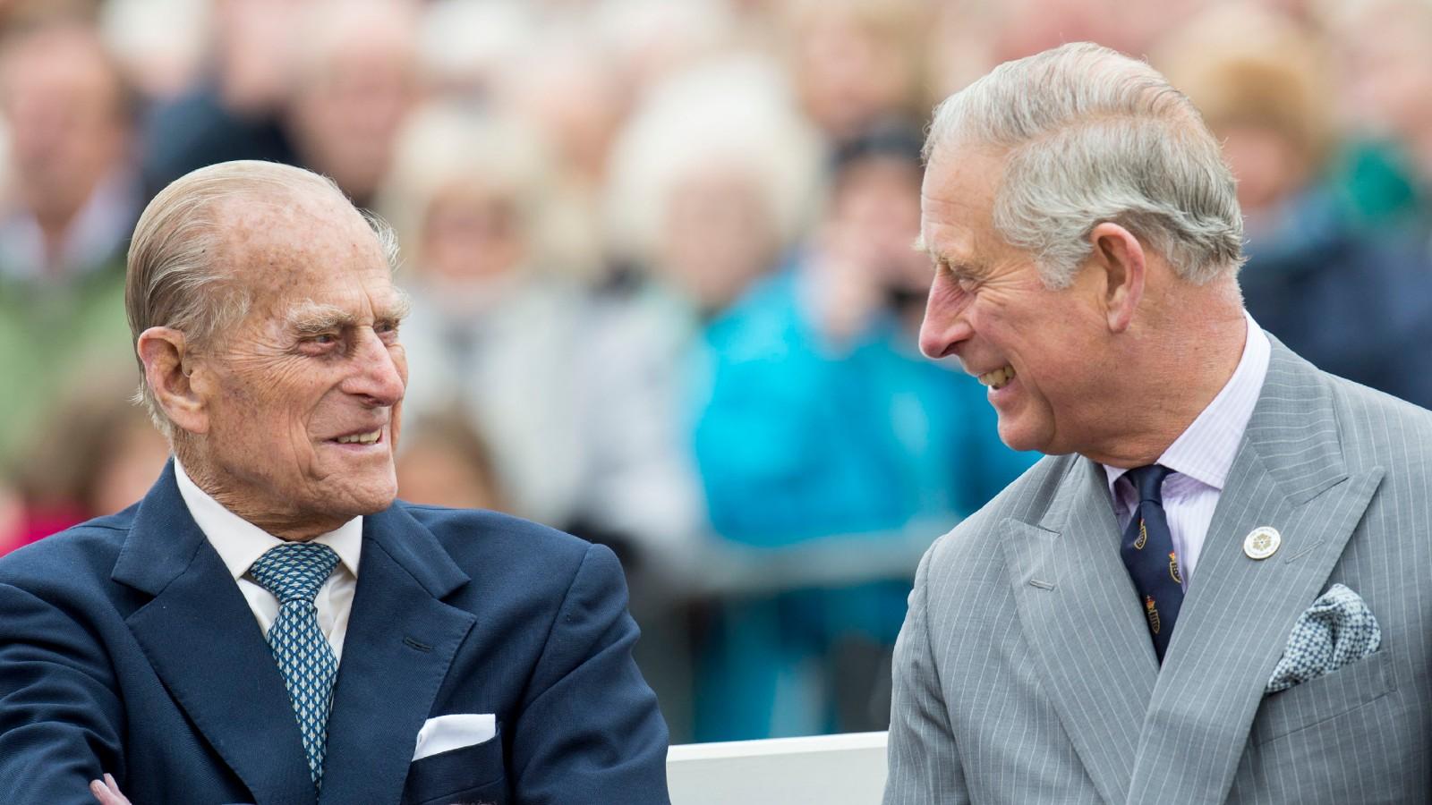 Le Prince Charles et le Prince Philip
