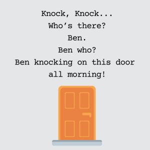blagues de porte