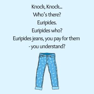 blague sur les jeans pour les enfants