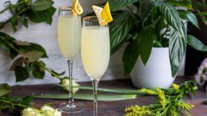 cocktails classiques avec gin French 75 recette