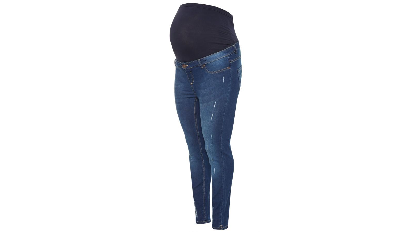Le meilleur jean de grossesse grande taille - Yours Bump It Up Skinny Jeans