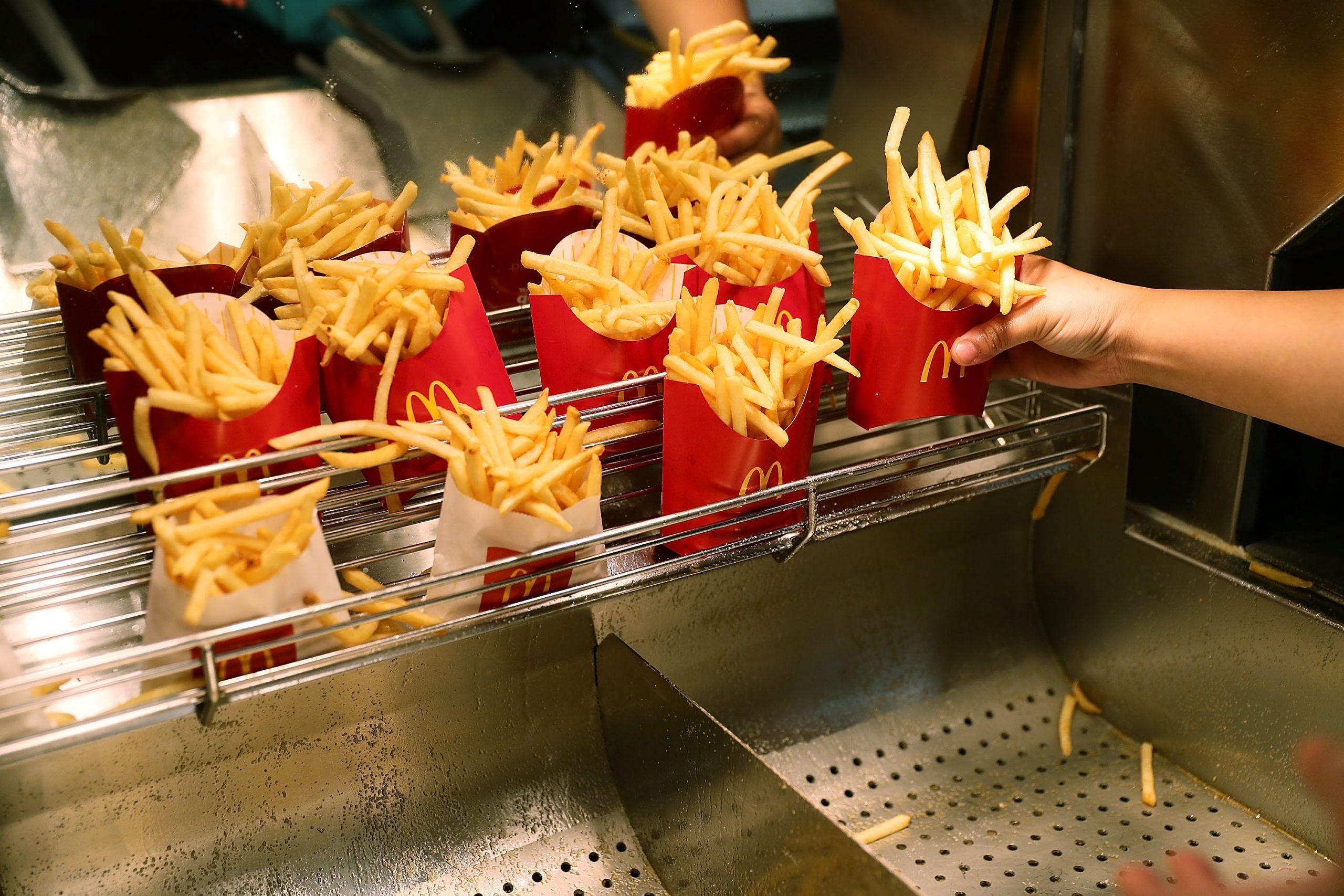 Les frites de McDonald's