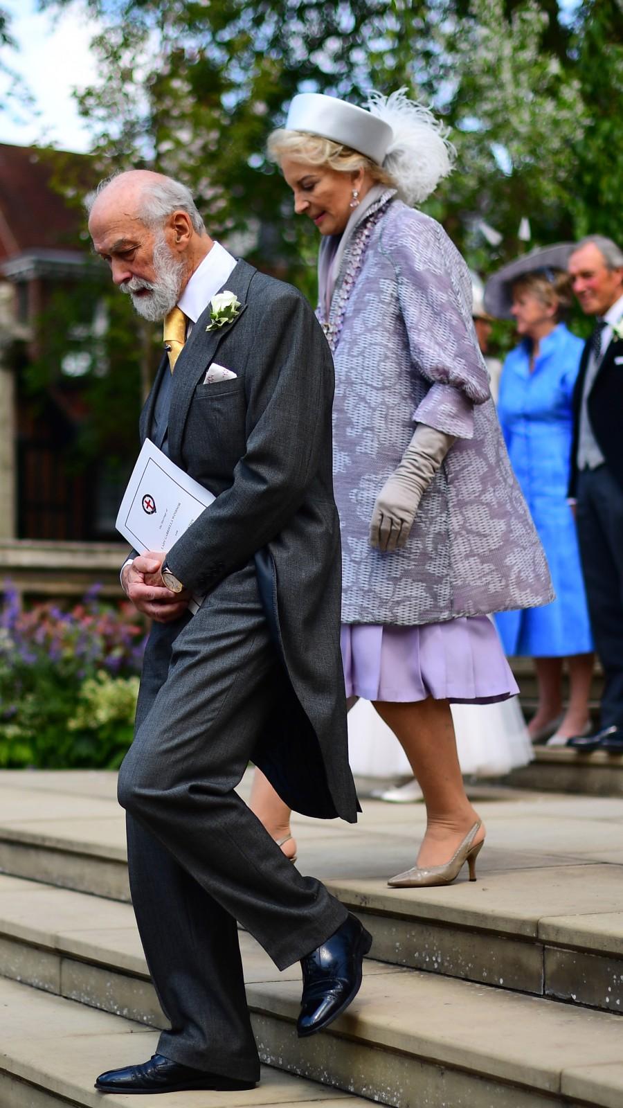 Les caillots sanguins de la famille de la reine, la princesse Michael de Kent et le prince Michael de Kent.