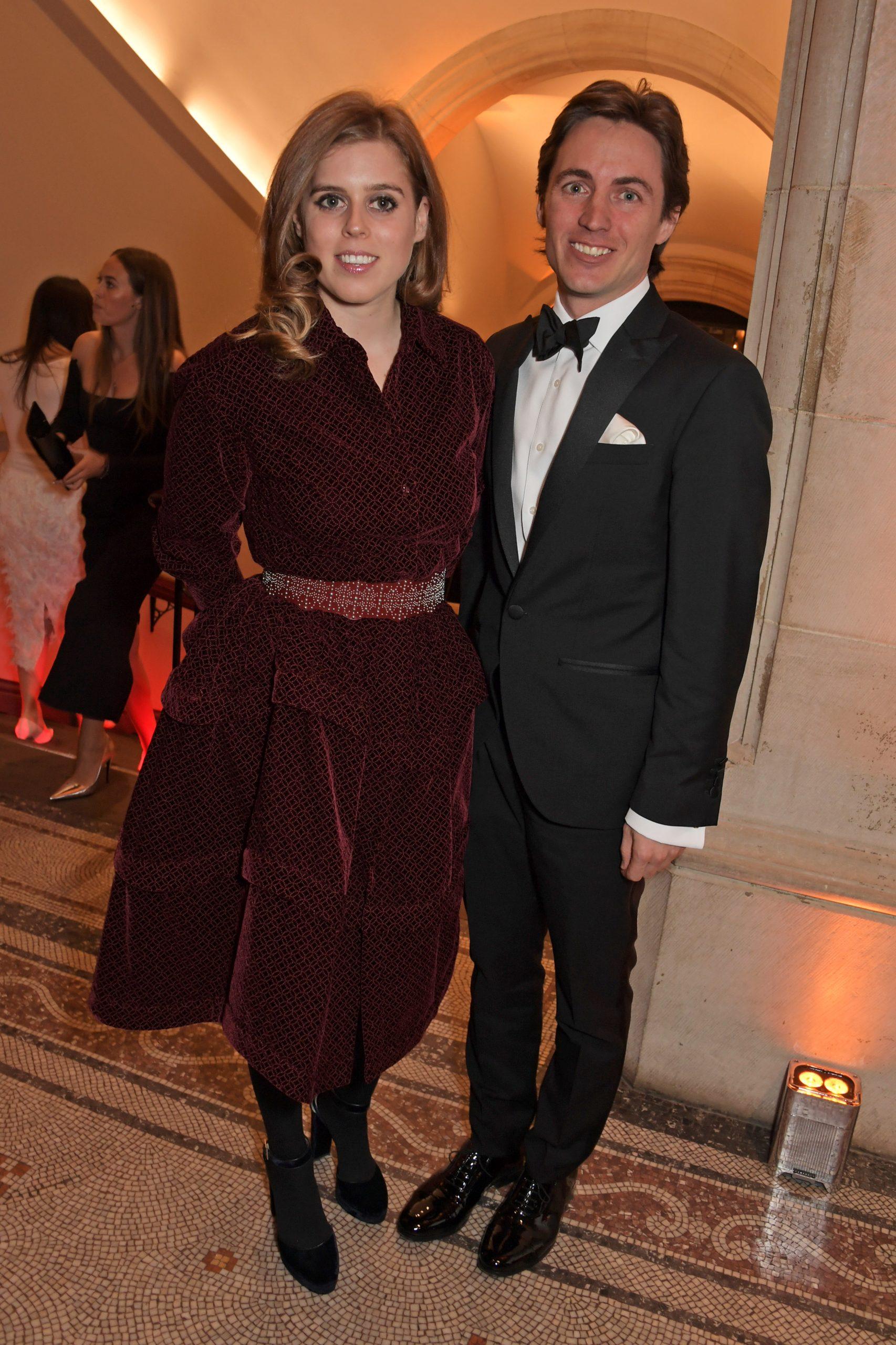 La princesse Beatrice et Edoardo Mapelli Mozzi