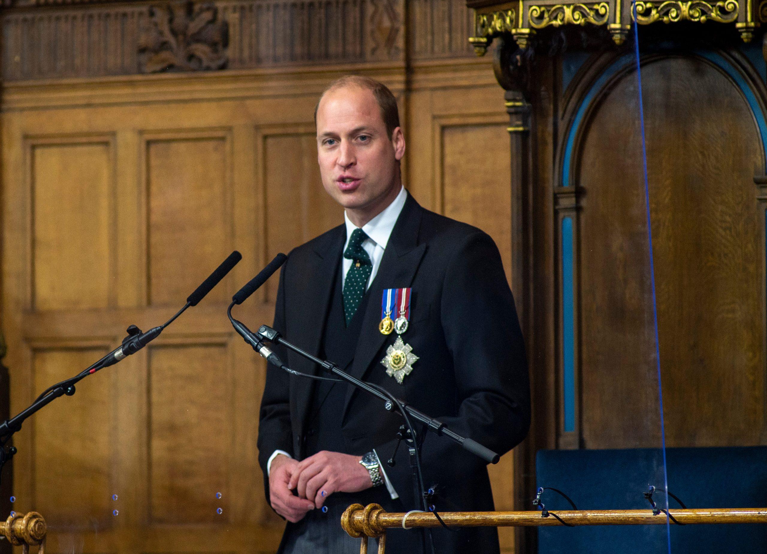 Prince William, Écosse