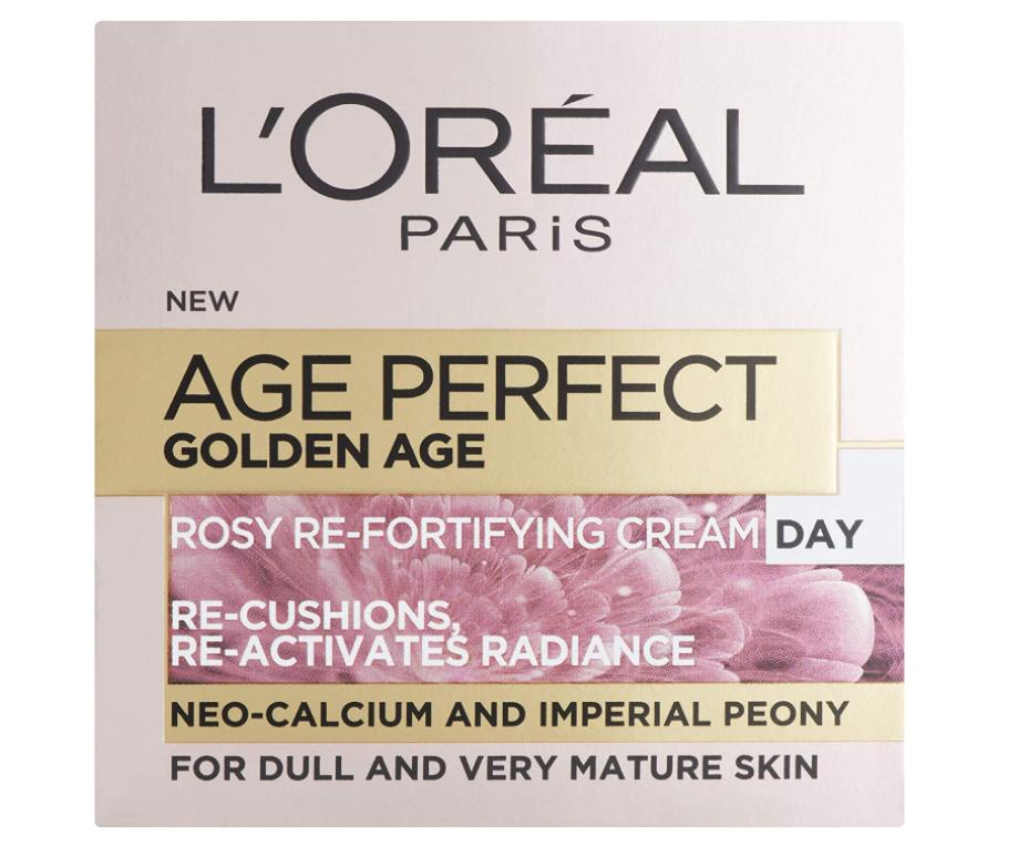 L'Oréal age perfect âge d'or éclat rosé