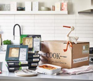 Boîtes repas COOK pour nouveaux parents