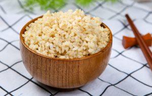 Bol de riz brun