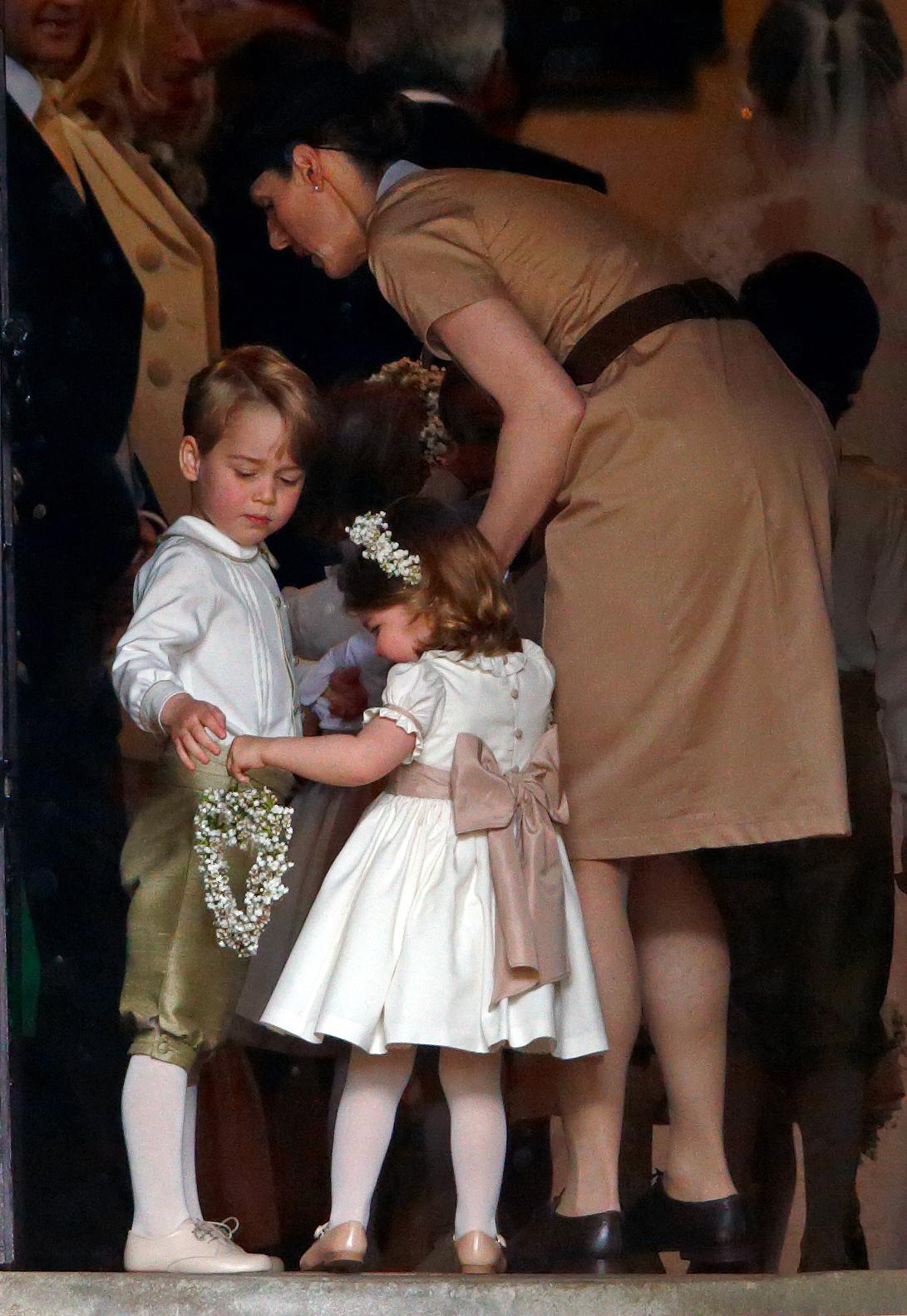 La nounou Norland Maria Teresa Borrallo s'occupe du Prince George et de Charlotte.