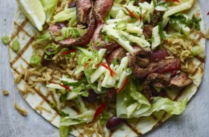 Body Coach Joe Wicks Lean in 15 recipes naughty steak burrito