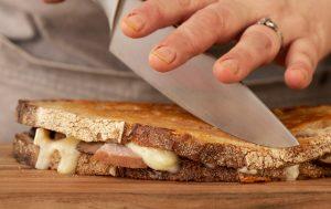 Sandwich au fromage et au levain