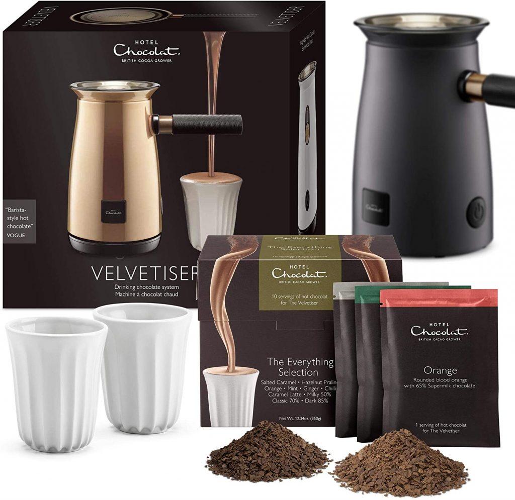 Machine à chocolat chaud Hotel Chocolat Velvetiser