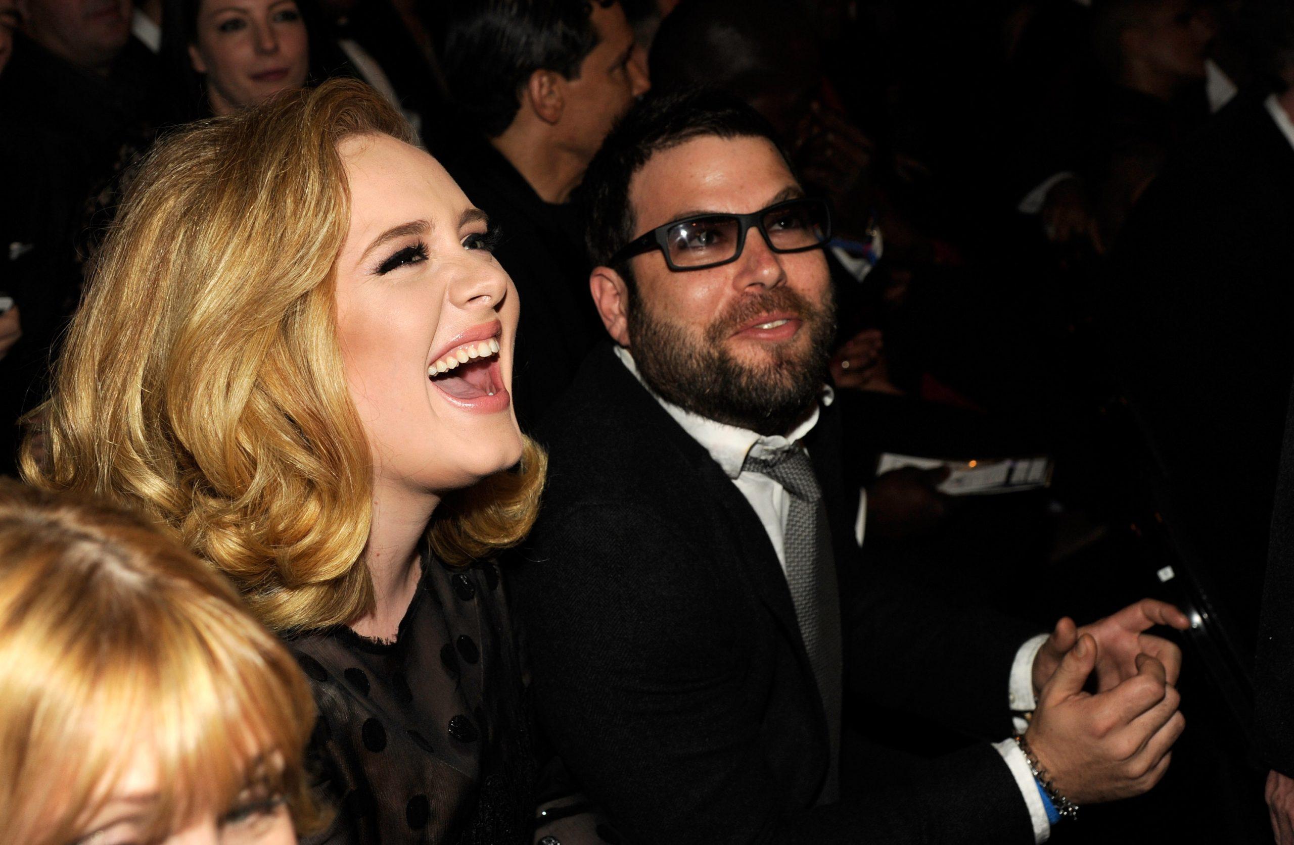 Adele et Simon Konecki