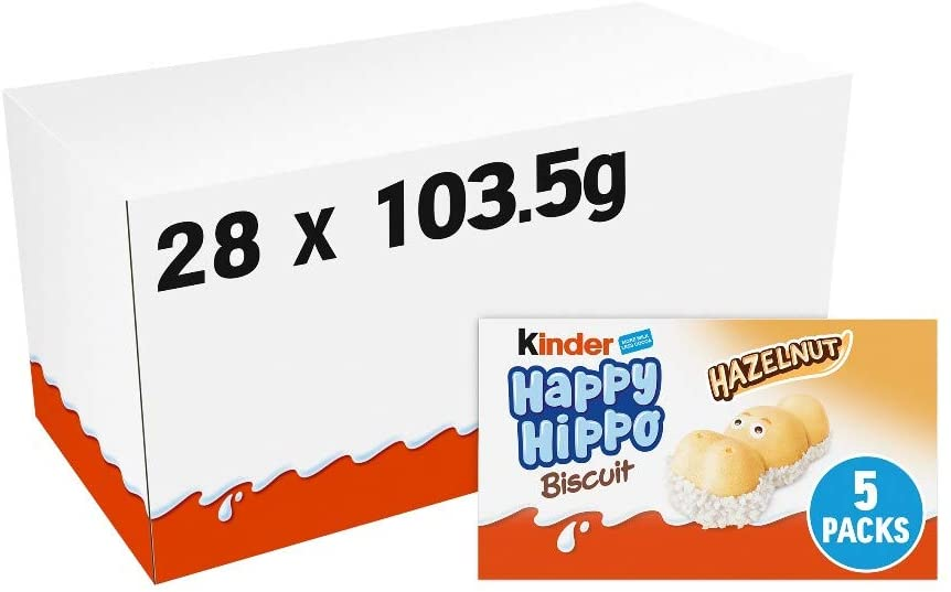 Boîte en vrac de 50 Kinder Happy Hippos d'Amazon