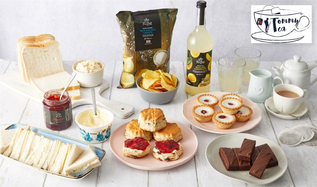 Morrisons Tommy Afternoon Tea