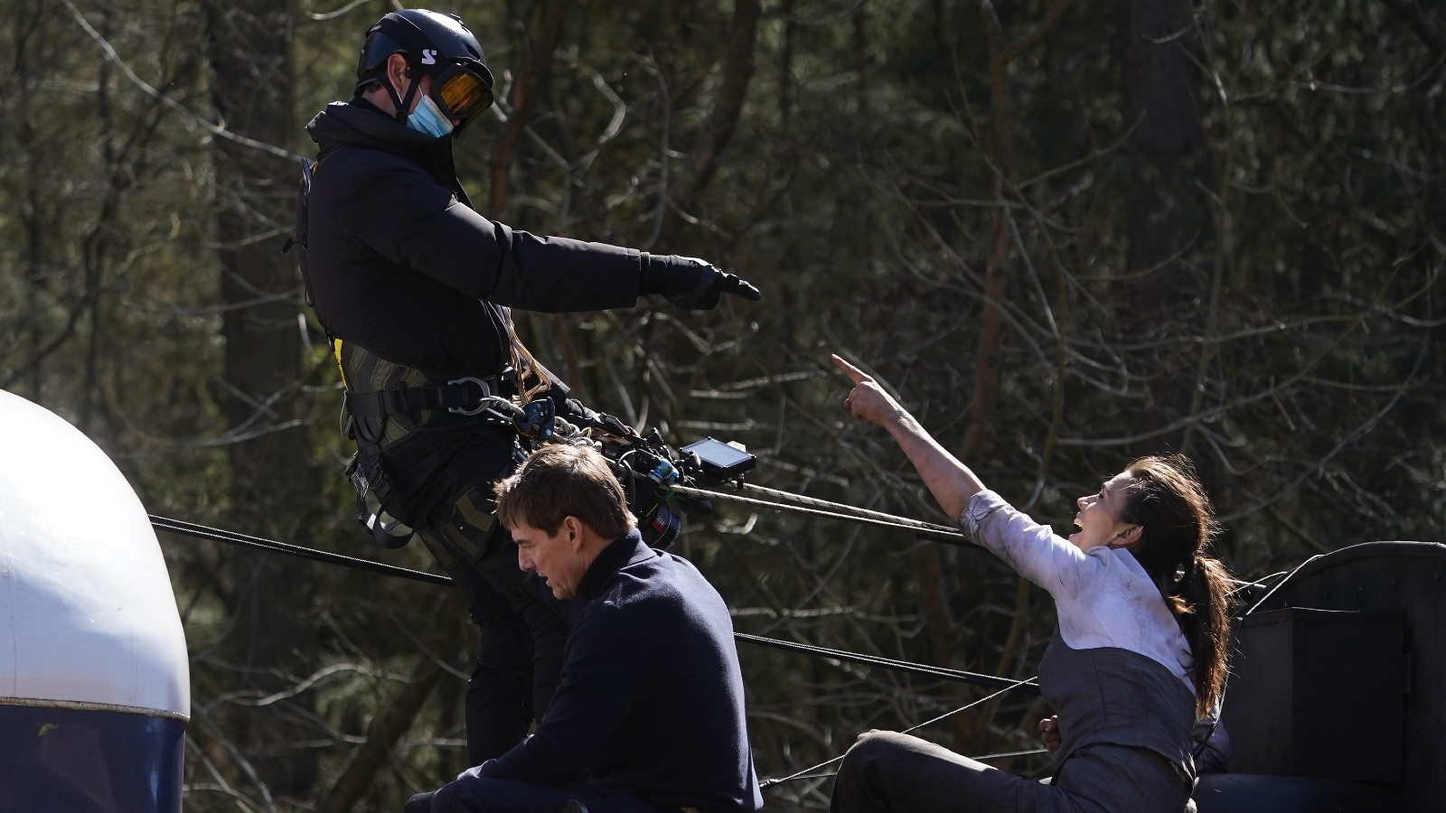 Tom Cruise, tournage de Mission Impossible 7 dans le Yorkshire