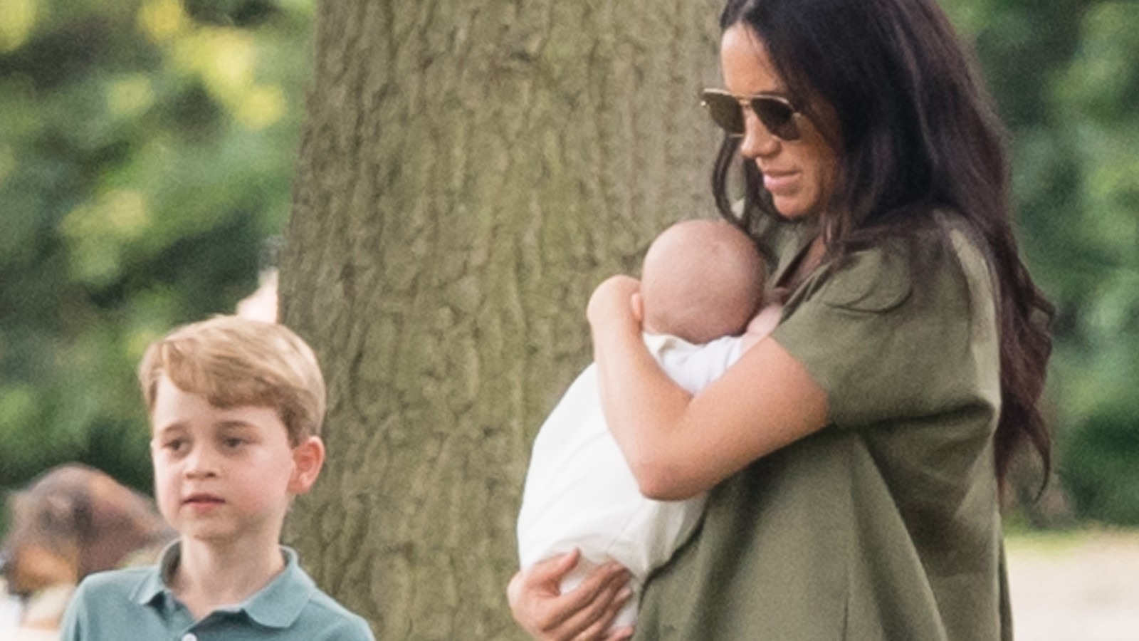 Le Prince George, Archie et Meghan Markle