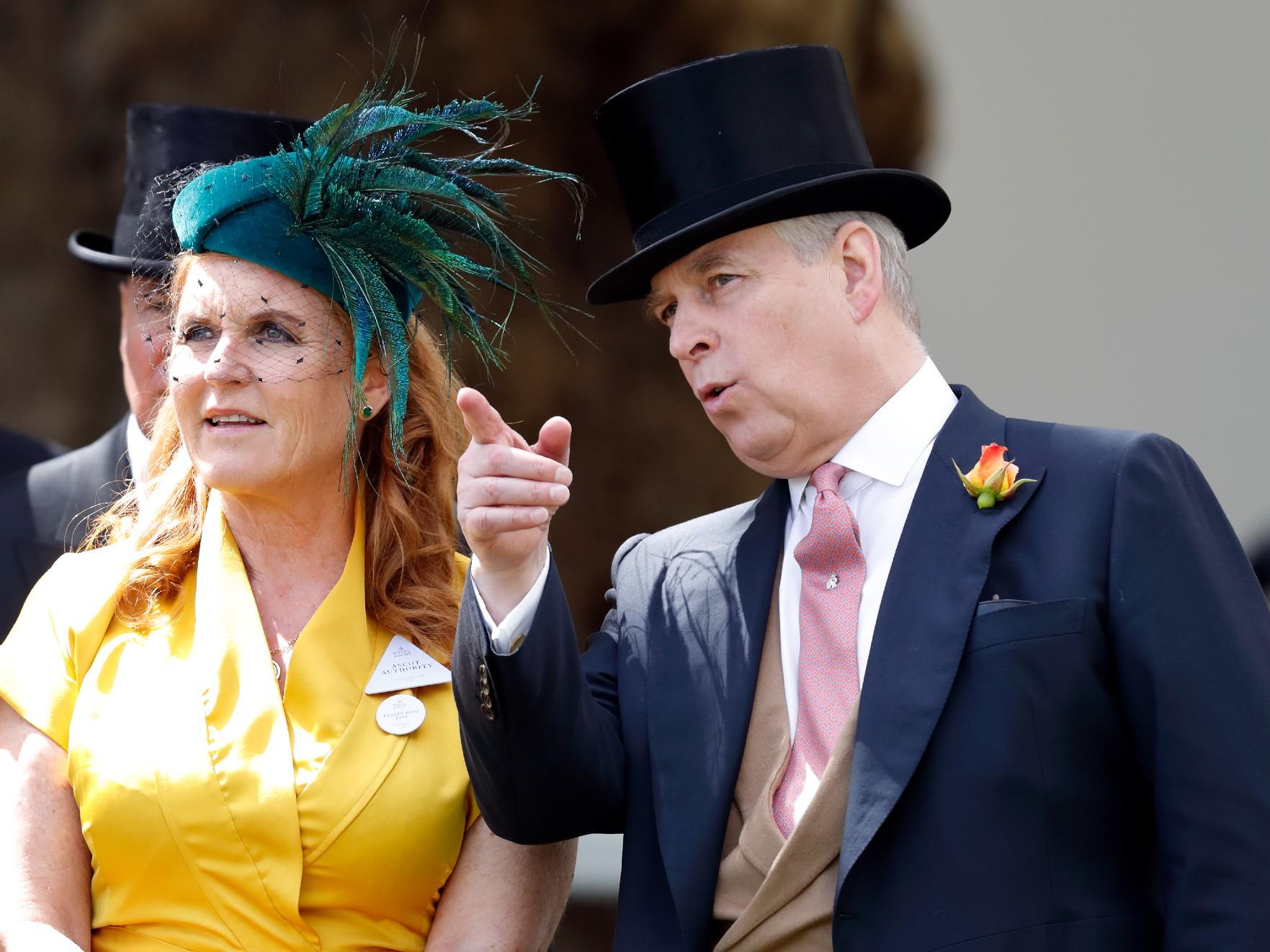 Le Prince Andrew et Sarah Ferguson