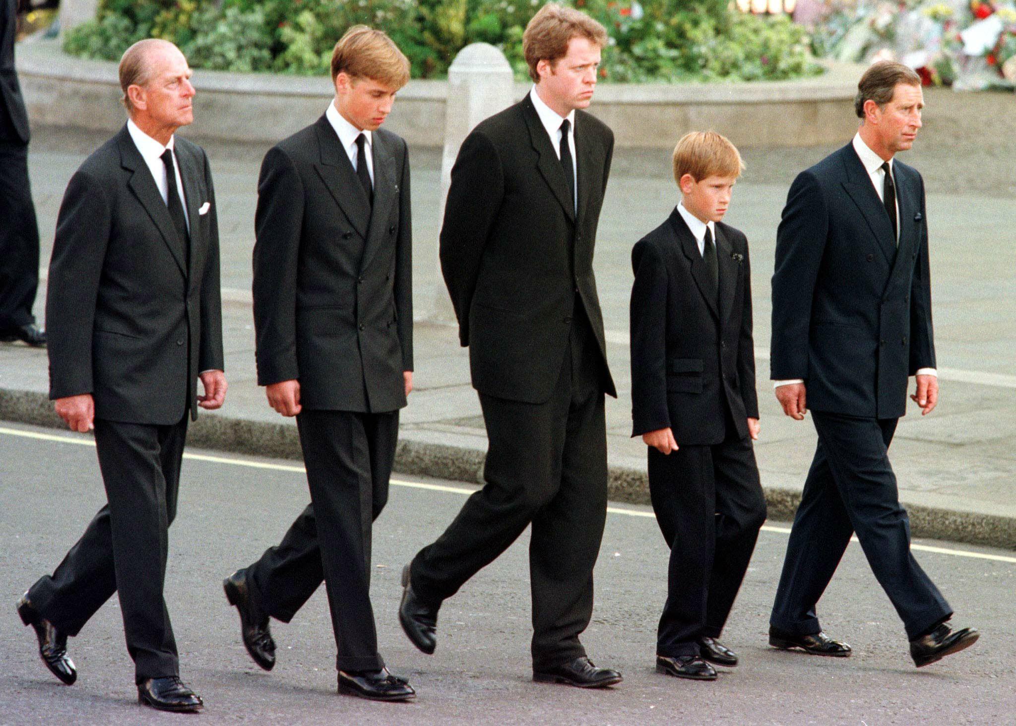 Le Prince Harry Les funérailles de la Princesse Diana
