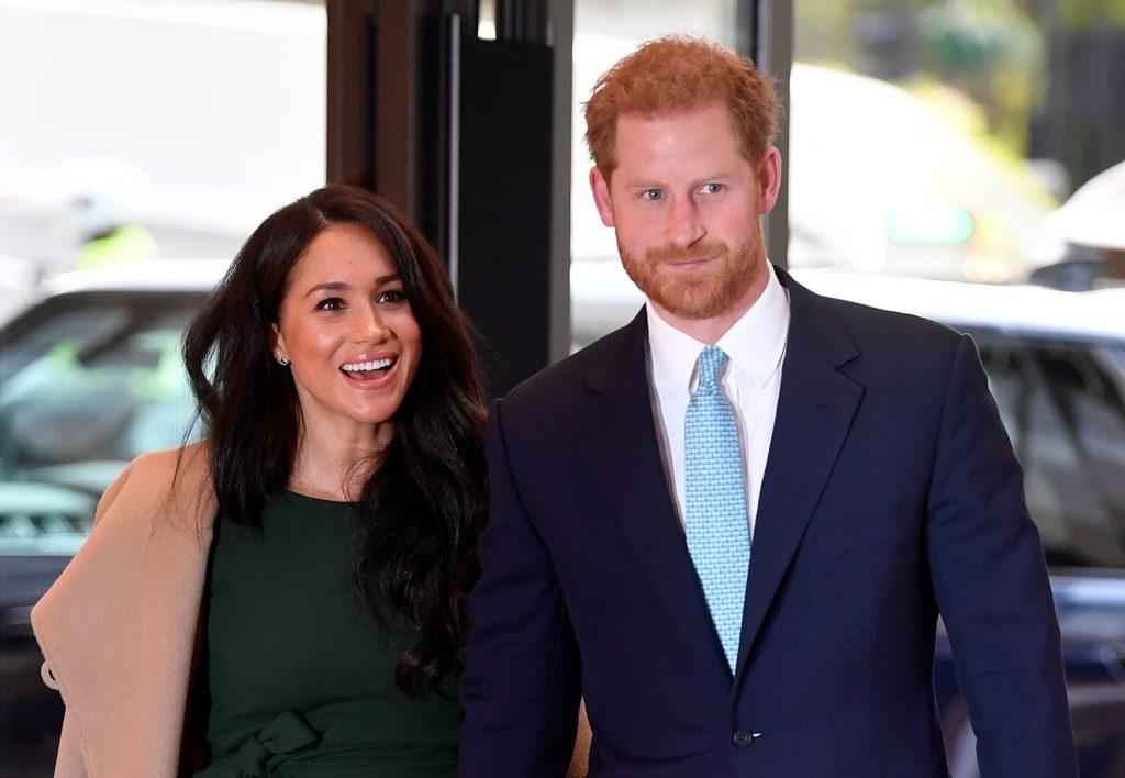 Le prince Harry, duc de Sussex, et Meghan, duchesse de Sussex, assistent à la remise des prix WellChild au Royal Lancaster Hotel, le 15 octobre 2019 à Londres, en Angleterre.