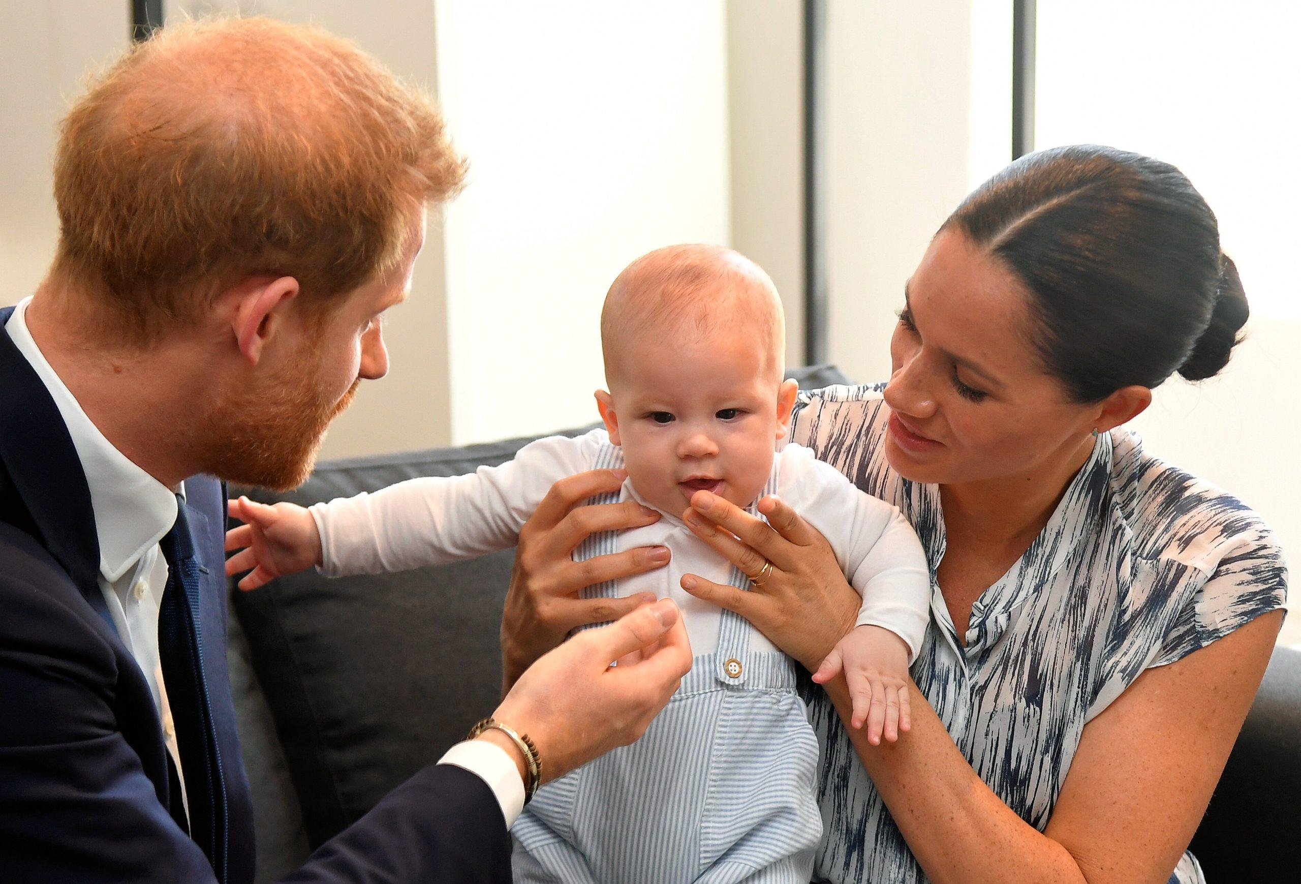 Meghan Markle bébé Archie
