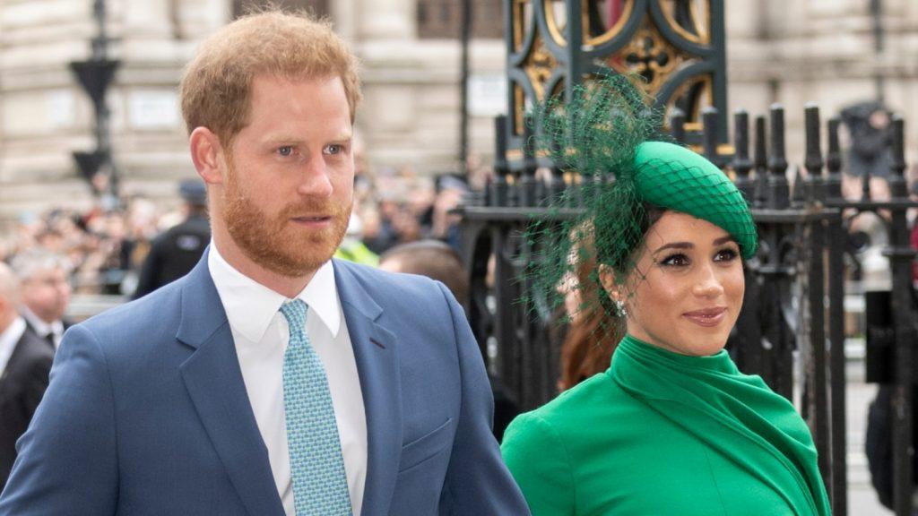 Le prince Harry, duc de Sussex, et Meghan, duchesse de Sussex, assistent à la cérémonie du Commonwealth Day 2020.