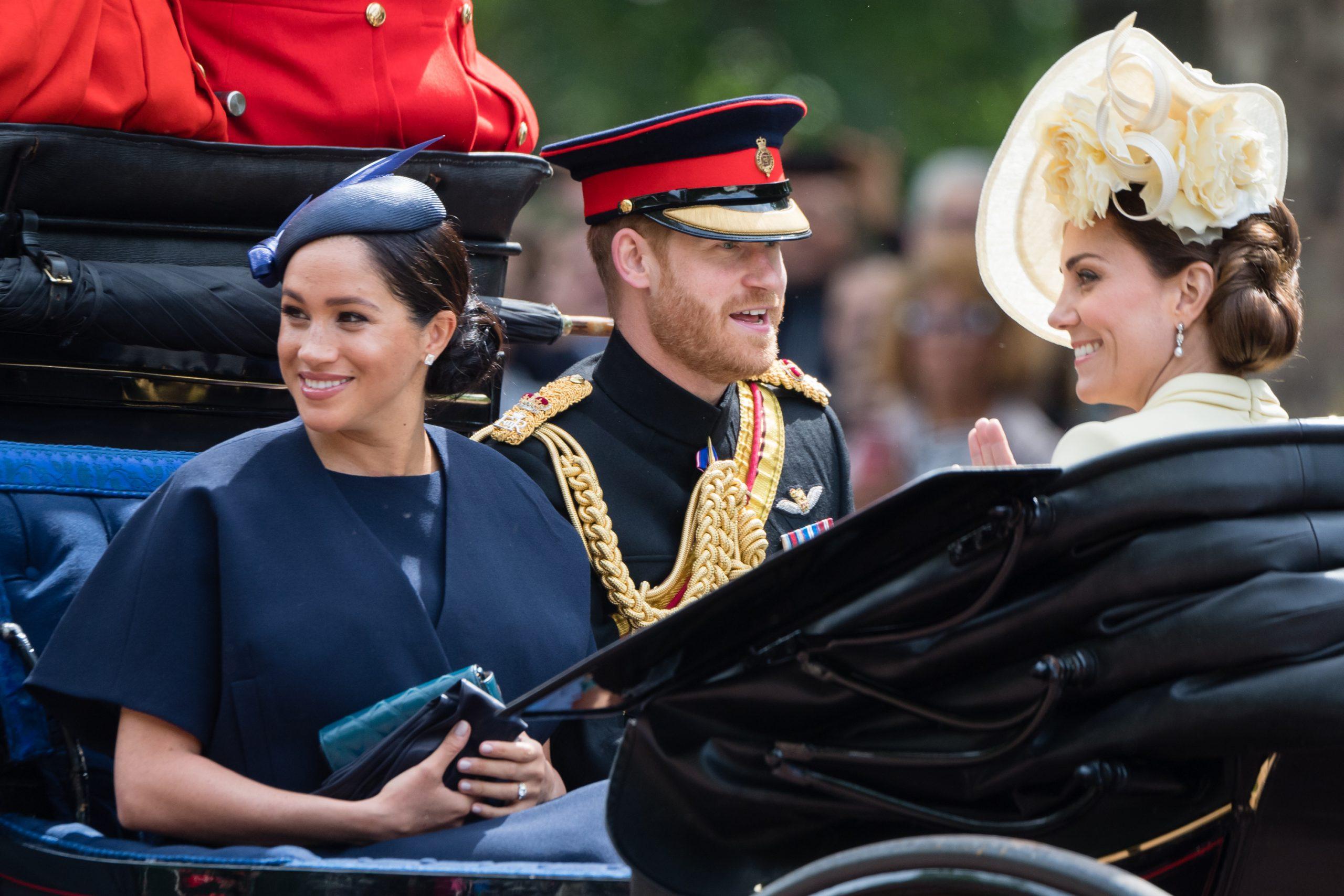Kate Middleton, Meghan Markle et le prince Harry