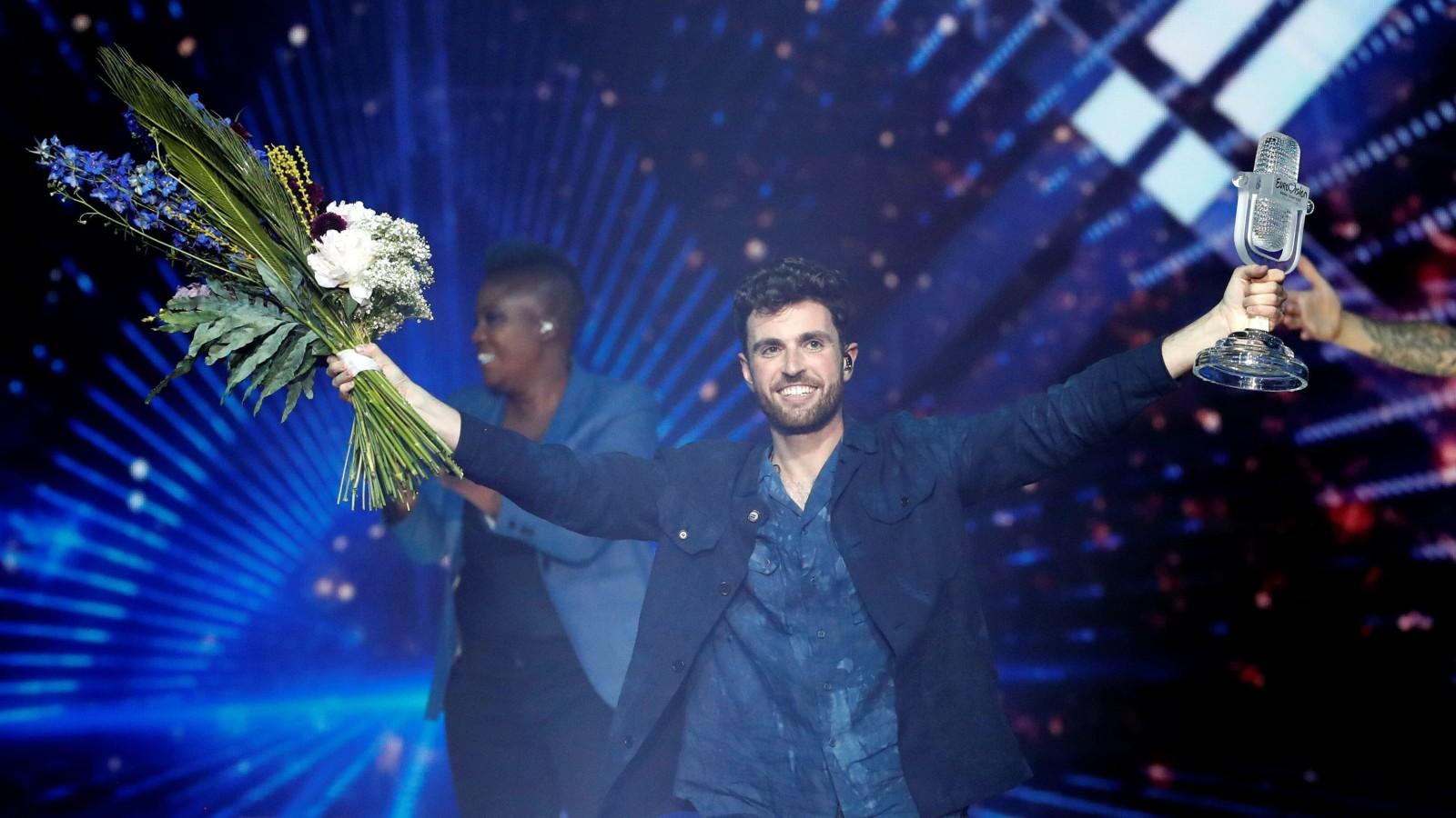 Duncan Laurence, gagnant du concours Eurovision de la chanson 2019.