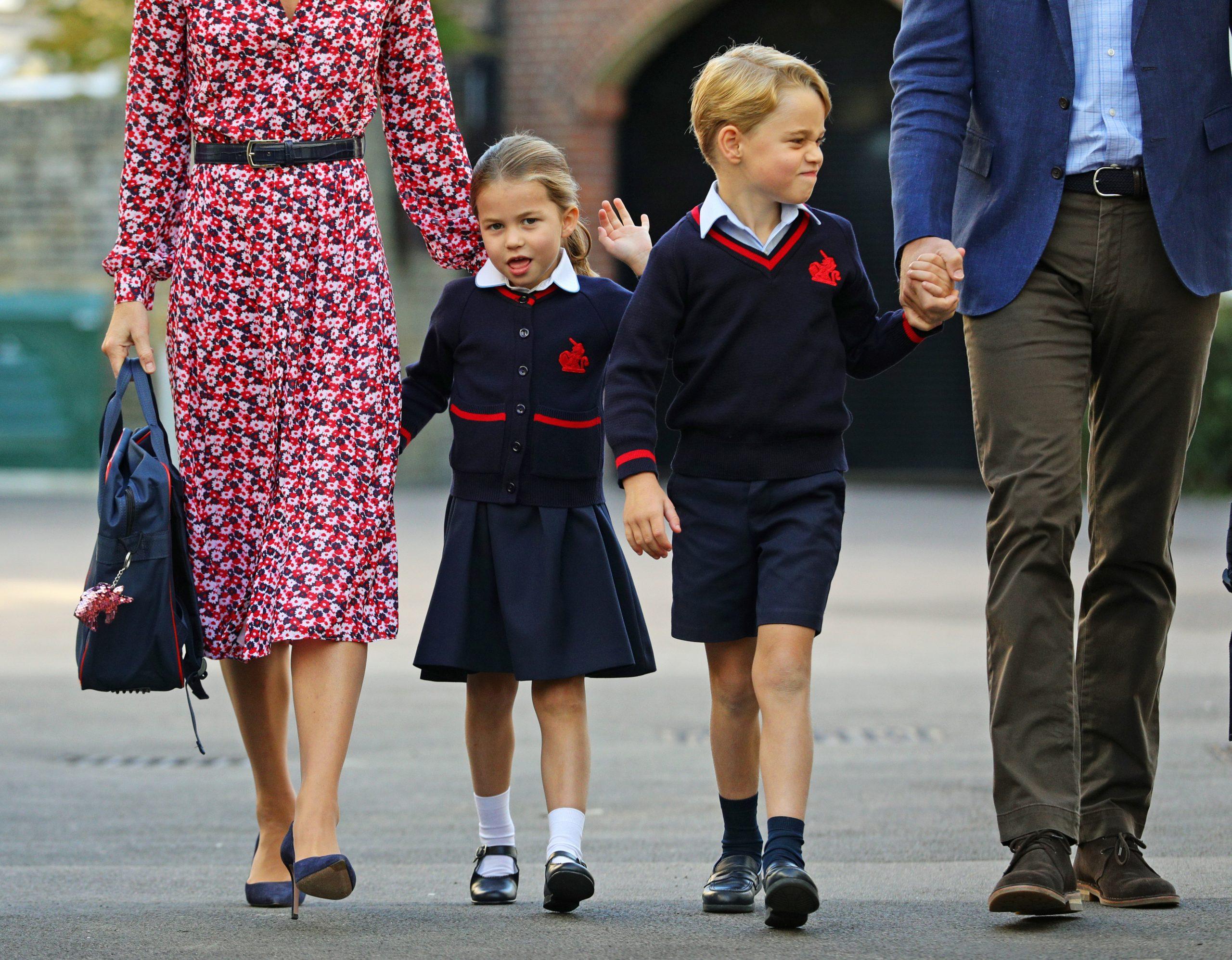 Prince George et Charlotte, école
