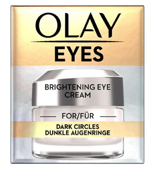 Crème pour les yeux éclaircissante pour les cernes de Olay, 15ml