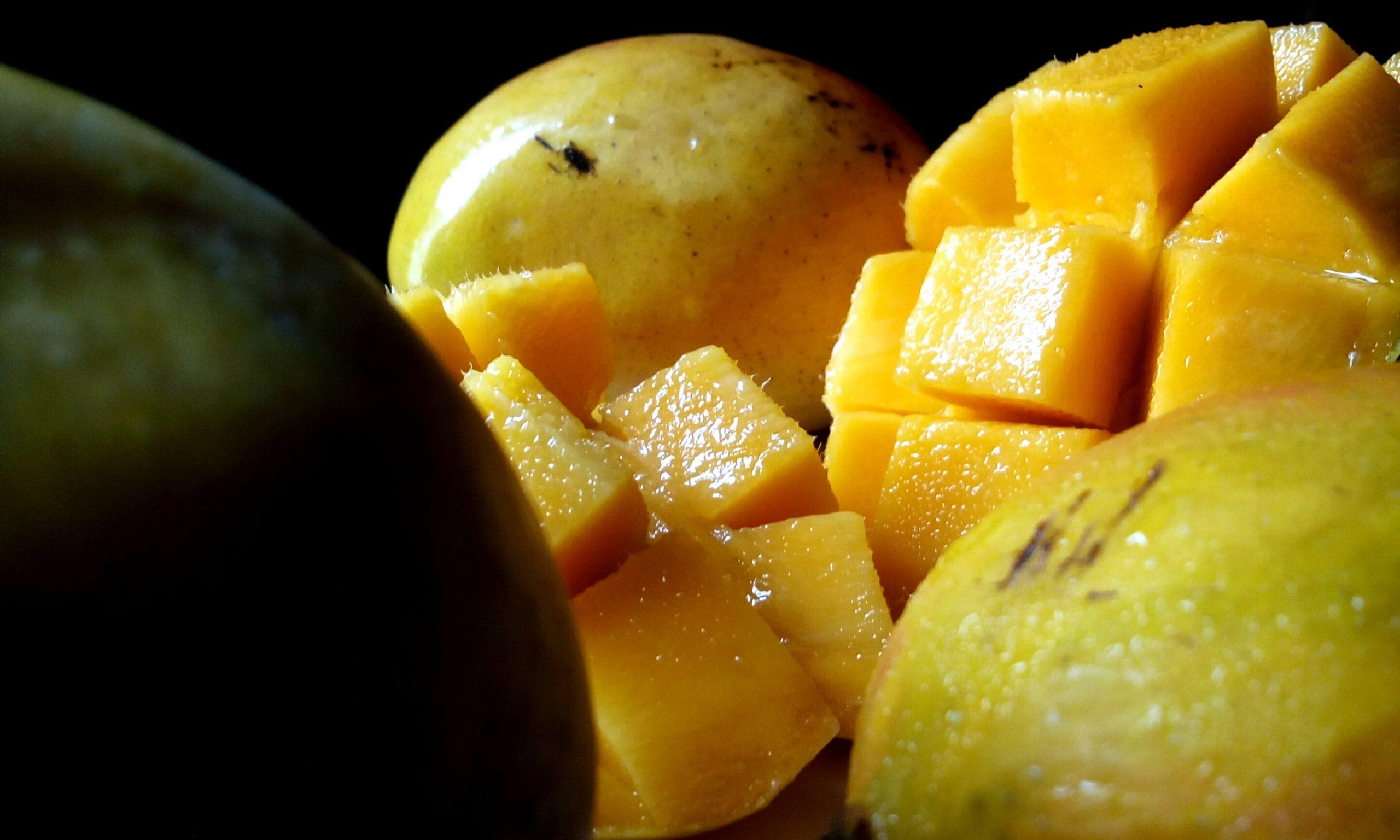 gros plan d'une mangue